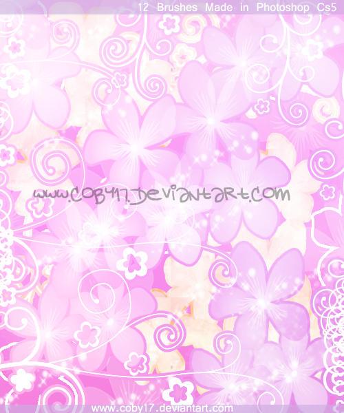 Sakura Flowers Brushes. by Coby17