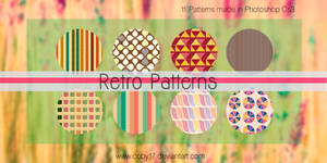 Retro Photoshop Patterns