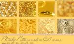Golden patterns by brenda