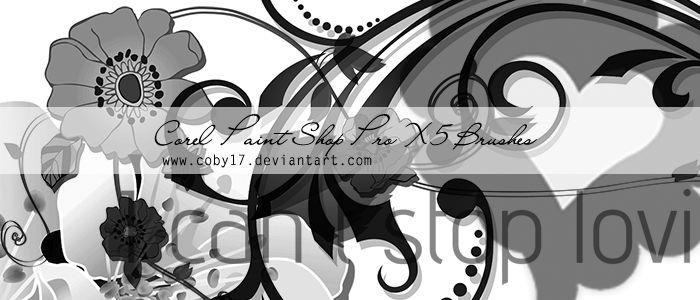 PaintShop Pro Brushes 3 by Coby17