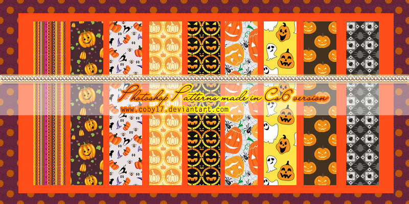 Halloween Patterns 2.