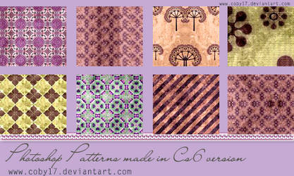 Photoshop Patterns by Coby17 on DeviantArt