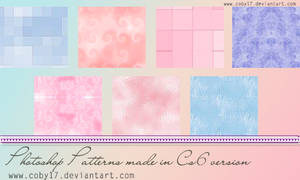 Blue and Pink patterns by Coby17