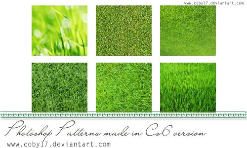 grass pattern photoshop