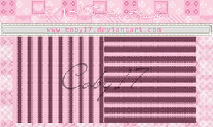 Stripes Brushes for Paint Tool SAI