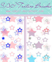 Cool Stars brushes for Paint tool SAI by Coby17