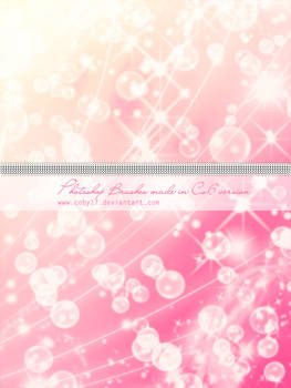 Bubbles,Glitters and Sparkles Photoshop Brushes HQ