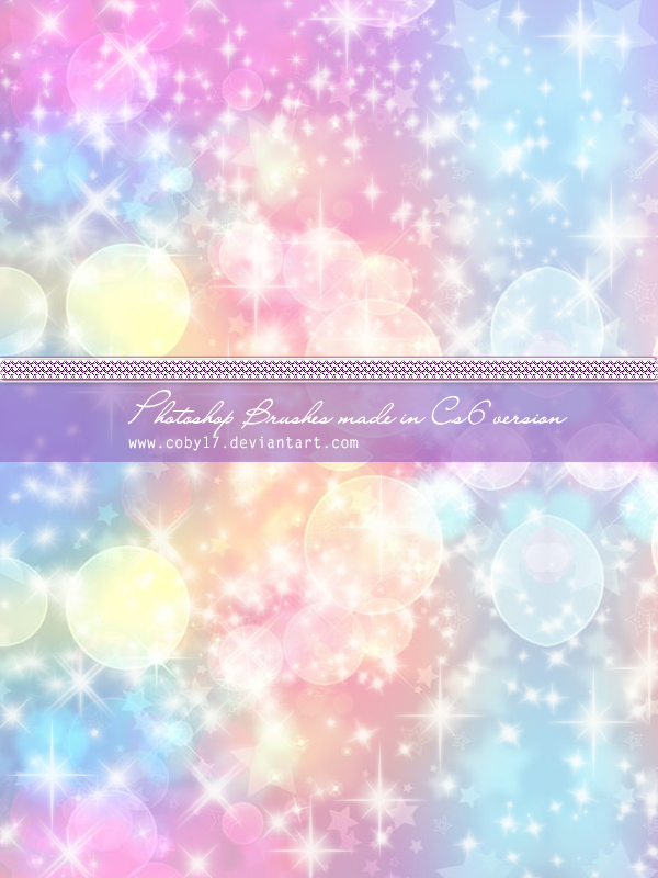 Coby Sparkles Photoshop Brushes