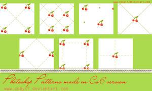 Cherries Photoshop Patterns