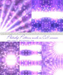 Violet Bokeh Photoshop Patterns
