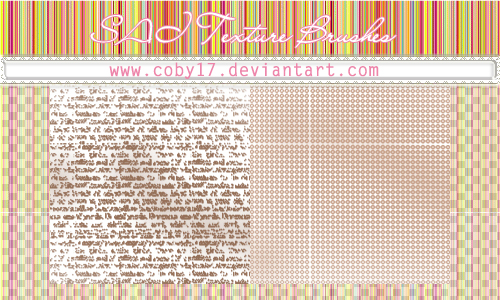 Letters and Dots Brushes for SAI by Coby17