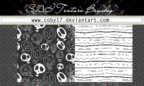 Skulls Brushes for SAI. by Coby17