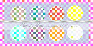 Squares candy colors  Photoshop Patterns