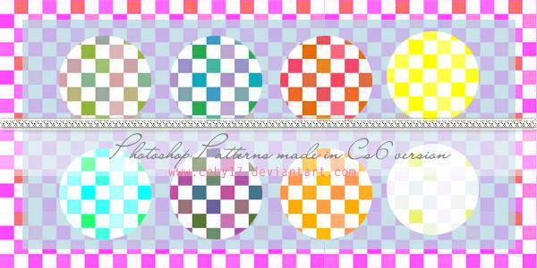 Squares candy colors  Photoshop Patterns