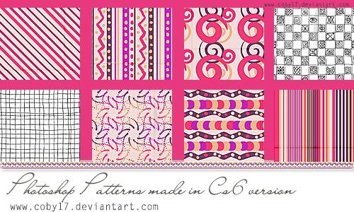 Pink Photoshop Patterns