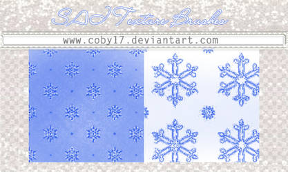 Snowflakes brushes for SAI. by Coby17