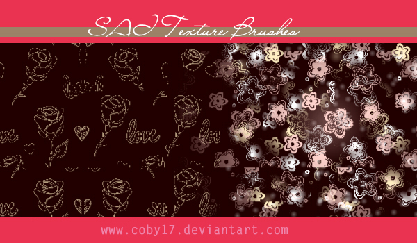 Flowers texture brushes for SAI by Coby17