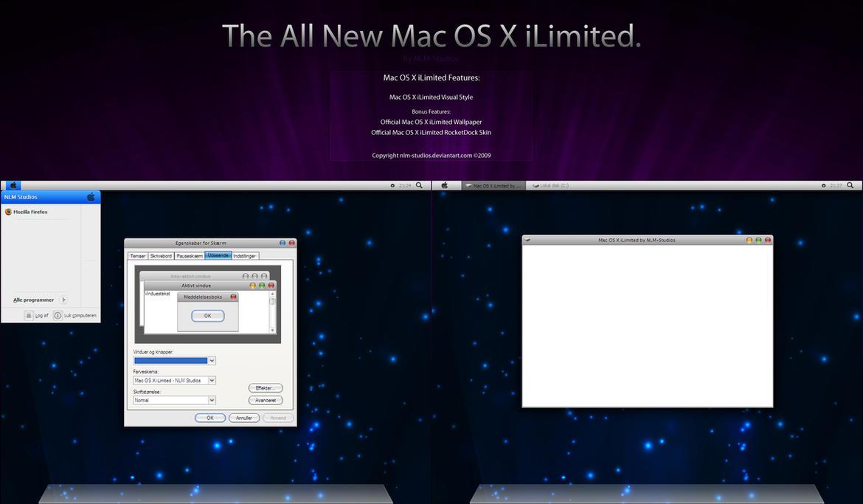 Mac OS X iLimited by NLM-Studios