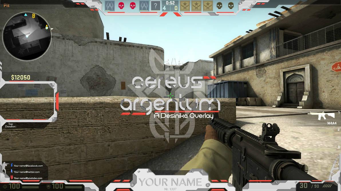 Overlay cs:go twitch free PSD