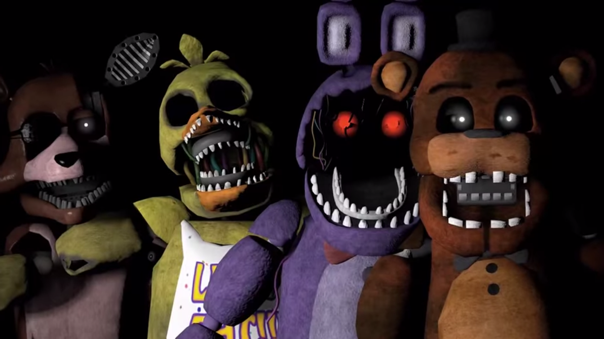 Old!Animatronics X Reader By ClanWarrior