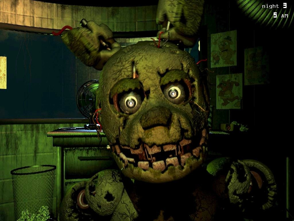 He ll come back springtrap x reader fnaf 3 by clanwarrior on