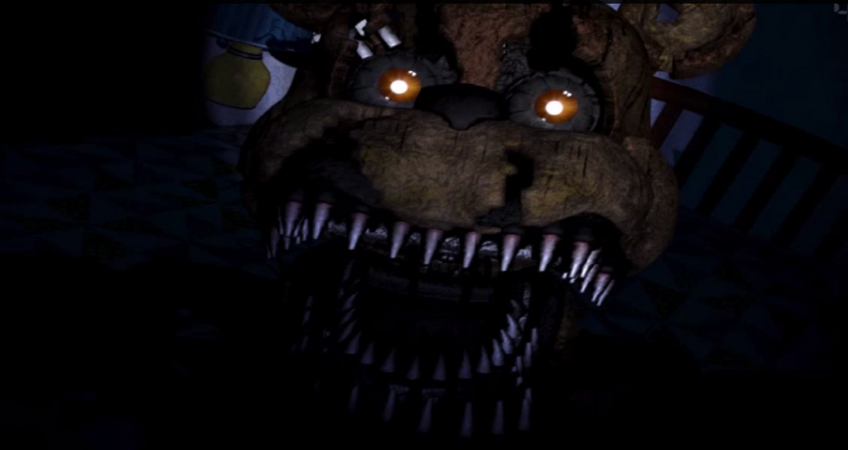 Friendly Monster|Nightmare!Freddy x Child!Reader by ClanWarrior on