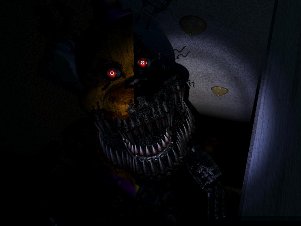 It Was Me|Nightmare!Fredbear x Child!Reader by ClanWarrior