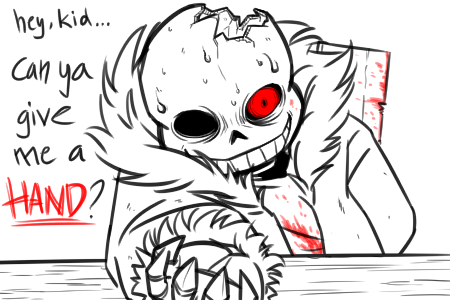 The Knife Game|Horrortale!Sans x Reader by ClanWarrior on