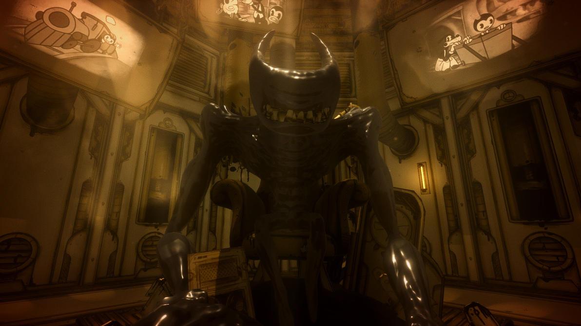 Gentle Giant|Beast Bendy x Reader by ClanWarrior on DeviantArt
