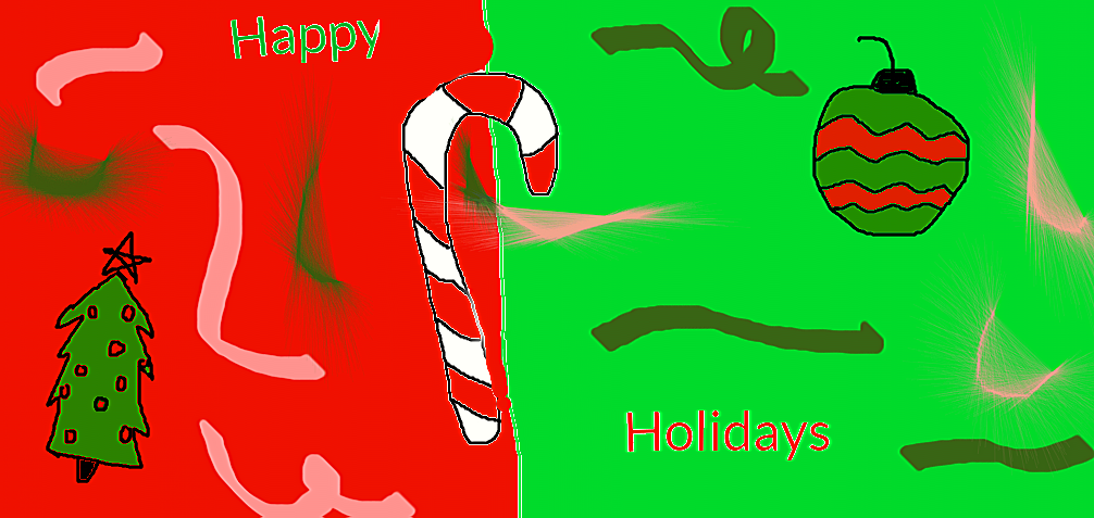 Happy holidays by Taylorloveseddsworld