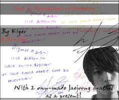 DBSK Jaejoong Brushes+ Avatars
