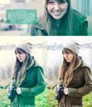 WinterBreath Photoshop Action