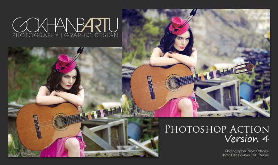 Photoshop Action ver.4 by gokhanbartu