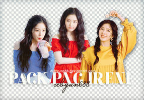 Pack Png Irene by CeByun688