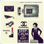 CoCo Chanel Hi-Res Photoshop brushes