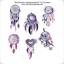 Watercolor Dreamcatchers PS brushes