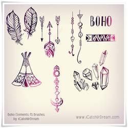 Boho Elements PS brushes