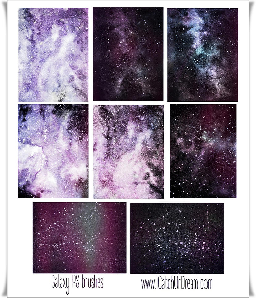 Galaxy PS brushes by iCatchUrDream