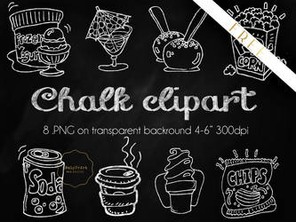FREE Chalky Clipart .PNG