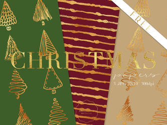 FREE Christmas Pattern Papers