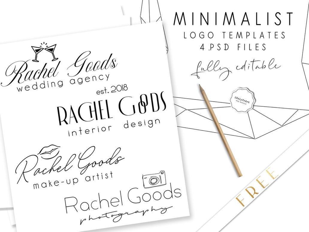 Minimalist LOGO templates .PSD by iCatchUrDream