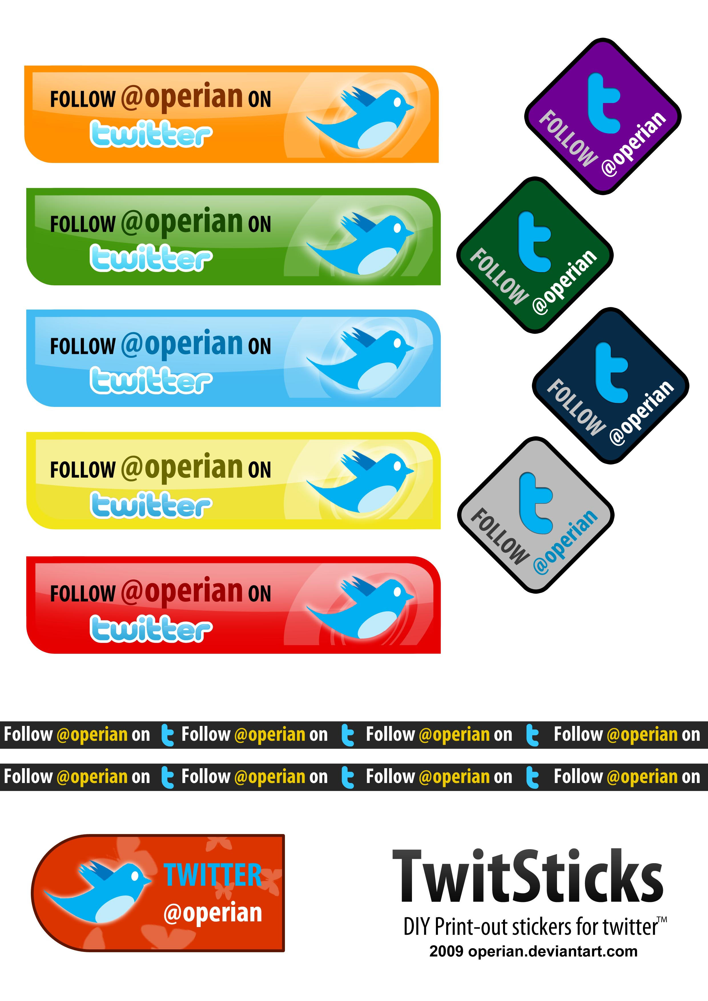 Twit Sticks by operian