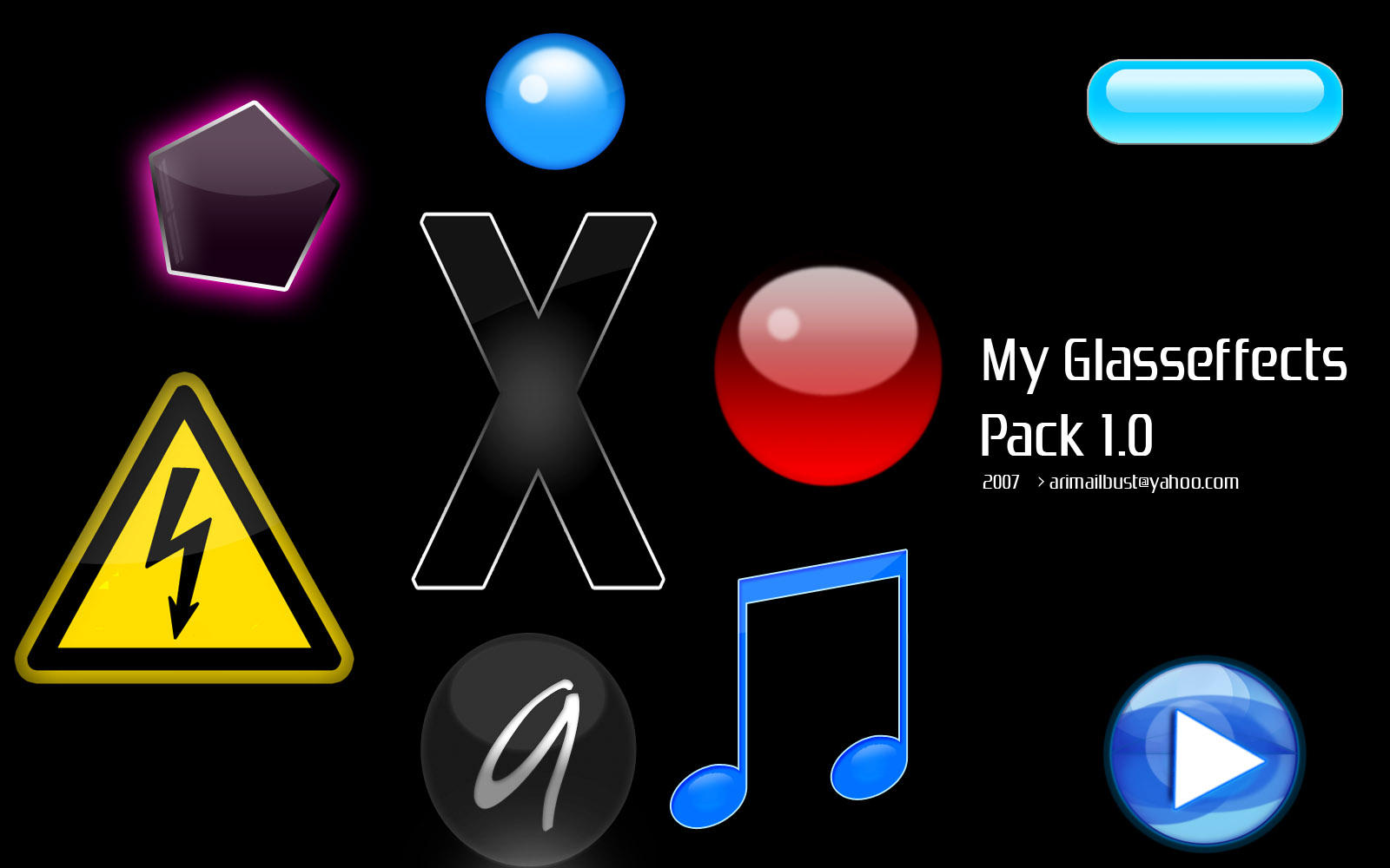 My Glasseffects Pack 1.0 by operian