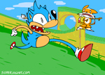 Catch up, Tails! (animooted) by Sexypotato