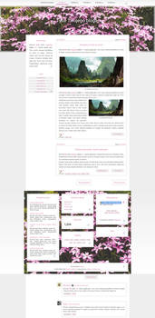 [1302] Blogger template by Mrs Black
