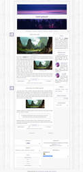 Free blogger template [1307] Light by Mrs Black by Ruda9