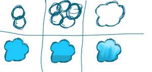 How I did clouds owo