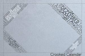 Crooked Calendar by FireForLight