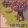 [Animating mockup] Running of the leaves