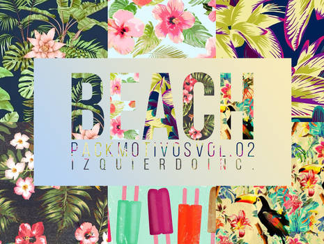 BEACH Pack Motivos Vol. 02